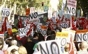 Proteste contro l'austerity