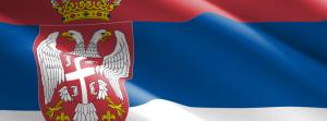 Bandiera serba