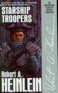Starship Troopers - copertina libro