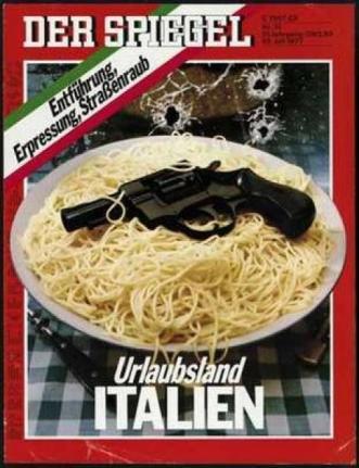 Spiegel Italia spaghetti