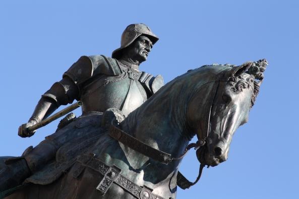 Bartolomeo Colleoni statua