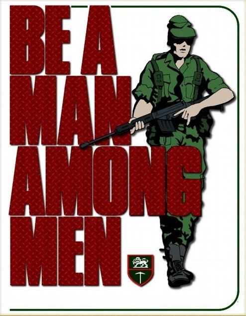 Be a Man among Men